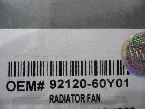 electroventilador aire acondicionado nissan sentra b13 y b14