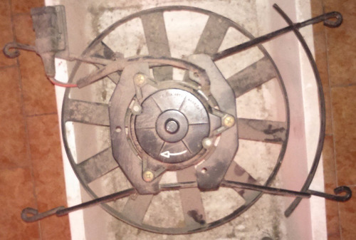 electroventilador de renault 19 re con soporte sin ac