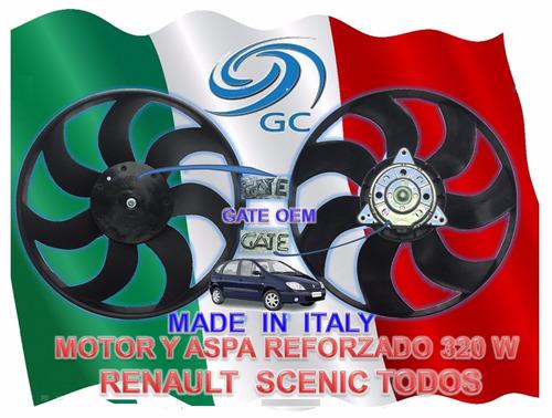 electroventilador motor aspa renault scenic  g. c. gate
