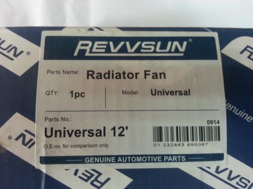 electroventilador universal 12
