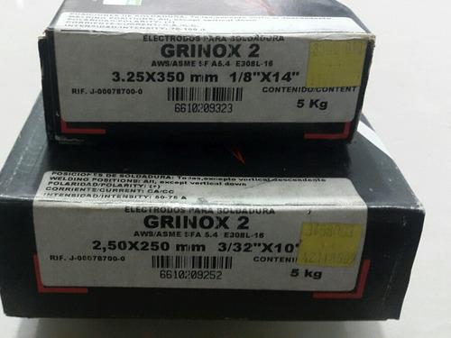 electrrodo grinox 2