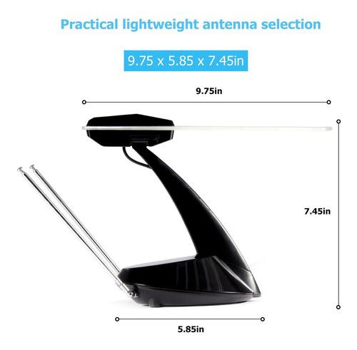 elecwave ea02hdtv antenna 50miles range indoor antena a