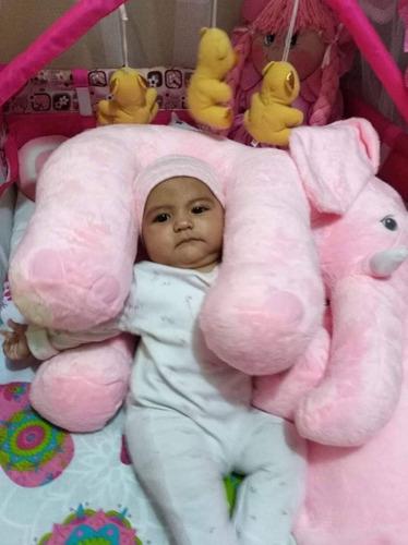 elefante almohada abrazadora bebe 60 c relajante cojin madre