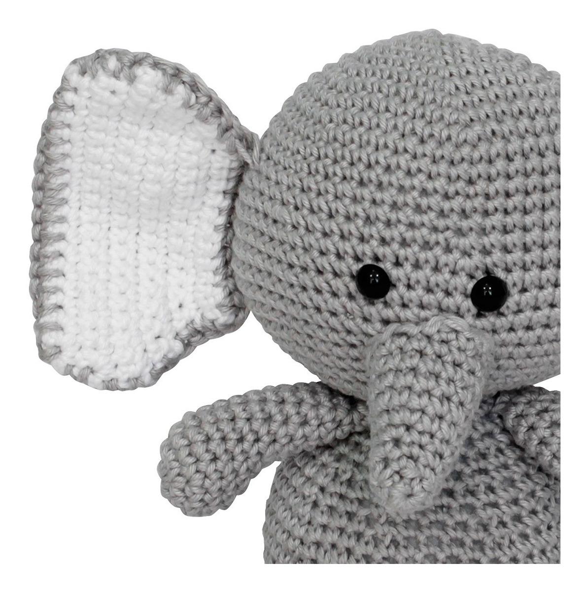 Crochet Elefante Cosas Animal Miniatura Elefante Amigurumi | Etsy | 1200x1191