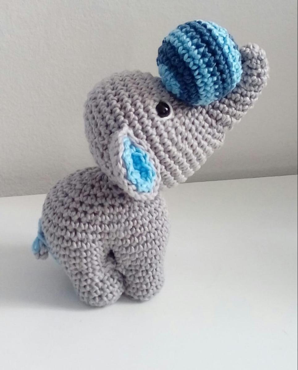 Amigurumi Elefante Deitado no Elo7 | Patys Crocheteria (F36DCA) | 1200x965
