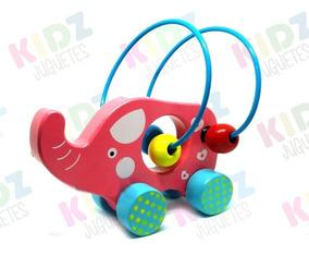 Kidz Rodantes Prono Animales De Juguetes Elefante Madera sQdrBhCxt