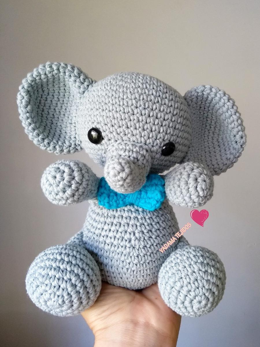 Amigurumi - Elefante Com Saia - R$ 75,00 em Mercado Livre | 1200x900