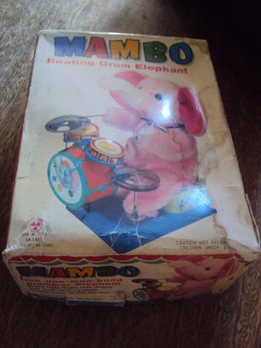 elefante con bateria años 70 mambo caja original arreglar