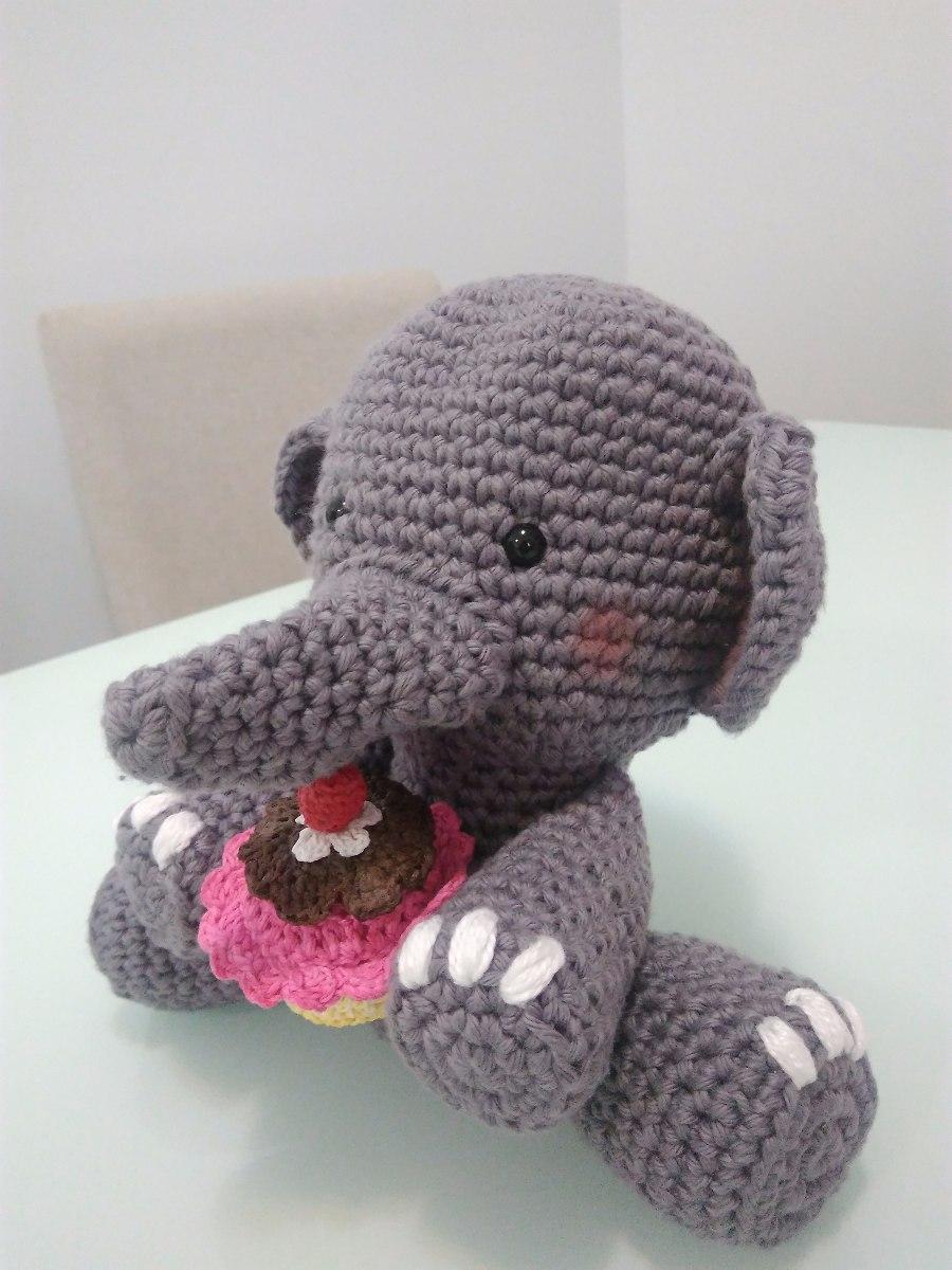 Elefante de crochê - Amigurumi - YouTube | 1200x900