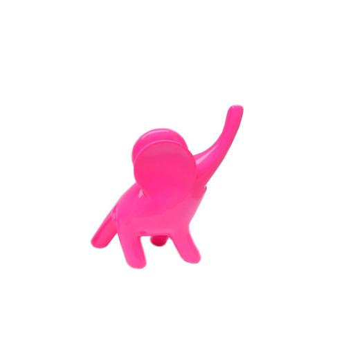 elefante deco de diseño mediano fucsia