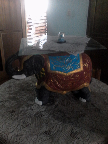 elefante decorativo mesa