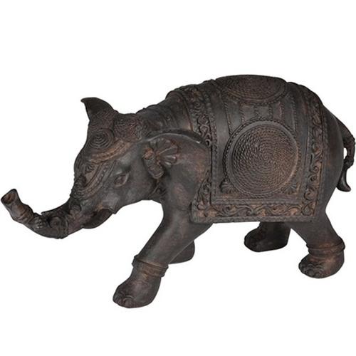 elefante feito em resina alt.15cm x comp. 28cm