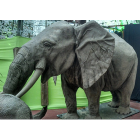 Elefante Grande, Animales, Esculturas, Arte,decoracion