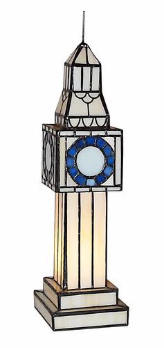 elefante lámpara de mesa velador figura tiffany