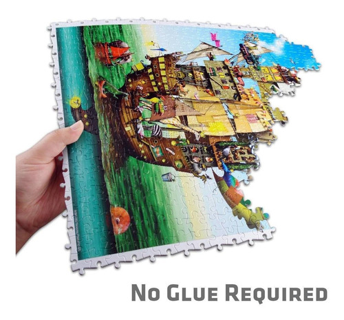elefante mil colores rompecabezas 150 piezas c/ marco pintoo