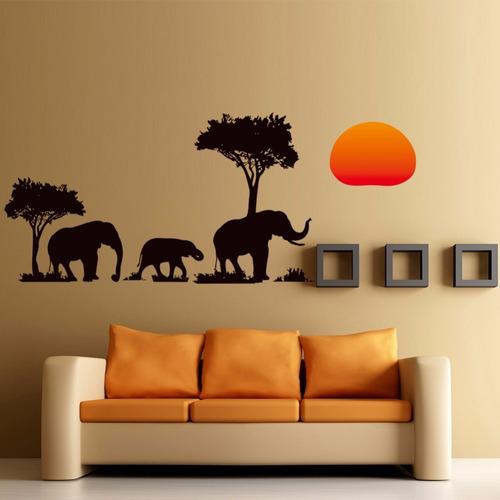elefante naturaleza  37 cm x 89cm ancho