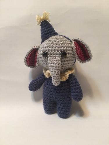 Souvenir Grande Elefante Amigurumi (tejido A Crochet) - $ 350,00 ... | 500x375
