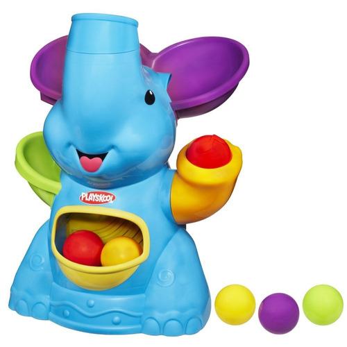elefante poppin musical park lanza bolitas playskool bebes