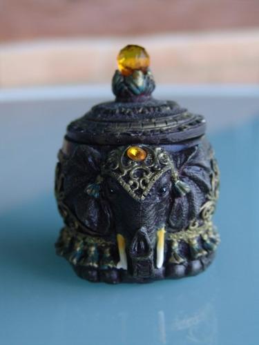 elefante porta jóias