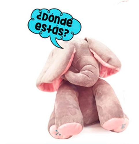 elefante trompita peluche habla y canta original