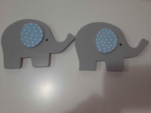 elefantes apliques fibrofacil decoracion habitacion bebe