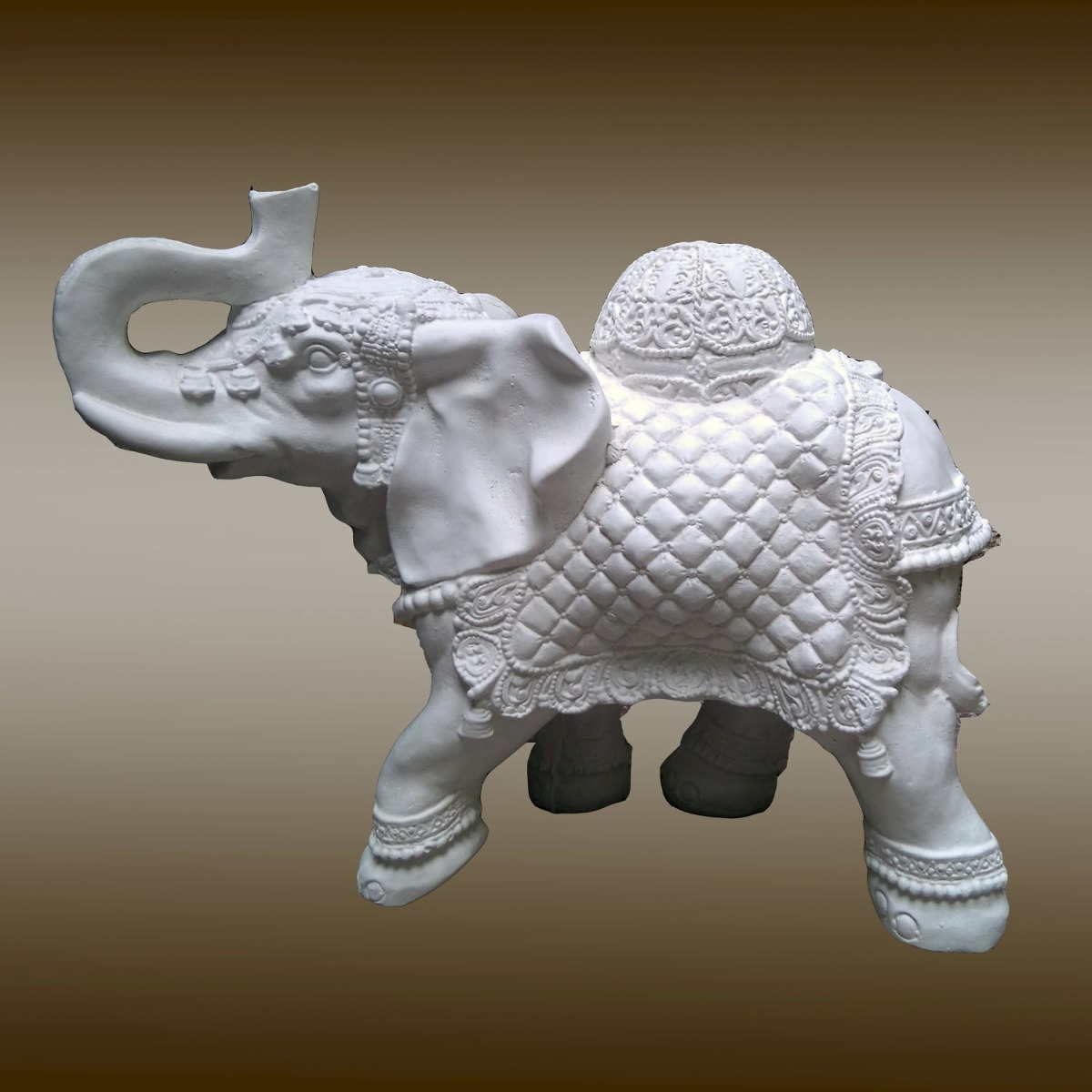 Elefantes De Yeso Para Pintar 40 Cm - $ 250,00 en Mercado Libre