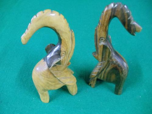 elefantes madera (cubanos)