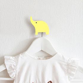 Elefantinho Kit 4 Gancho De Parede Quarto De Bebe
