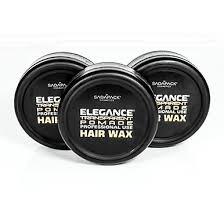 elegance pomade transparente para fijación del cabello