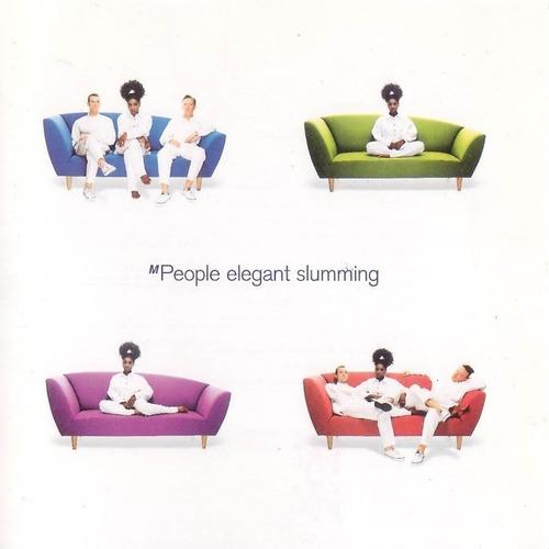 elegant slumming, m people. soul, techno. cassette.