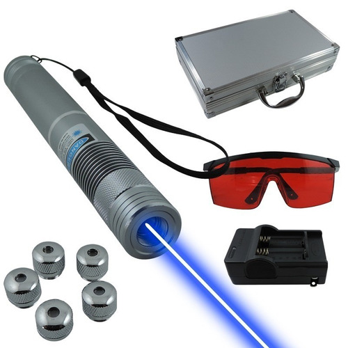 elegante apuntador laser azul 3000mw tipo pluma 1 cabeza 35