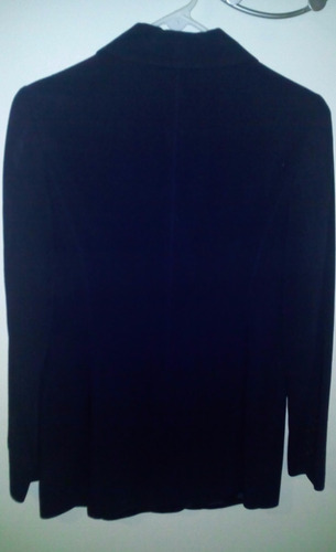 elegante blazer color negro español dama talla 28
