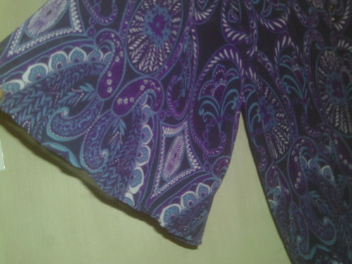 elegante blusa/vestido  en shiffon/pantalón