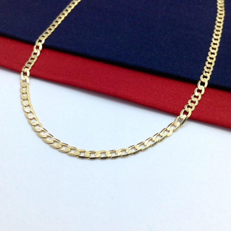 c32f8ddee469 elegante cadena barbada caballero 55 cm oro italiano 14k gbm. Cargando zoom.
