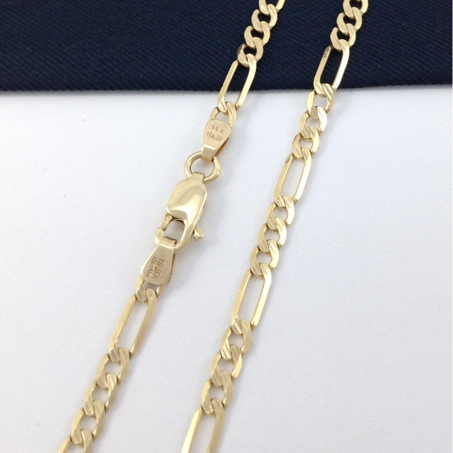 dc1ff474e2cd elegante cadena caballero 55 cm oro 14k estuche gratis gbm. Cargando zoom.