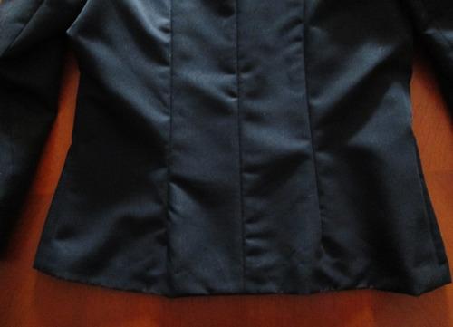 elegante chaqueta blazer francesa aquarius alta costura t l