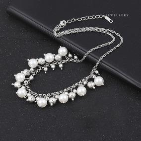 b15b7b156d6c Collar 14k De Oro Con Perlas Barroca Collar De Perlas - Joyas y ...