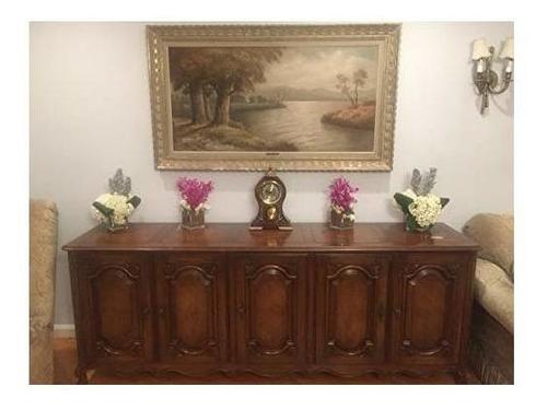 elegante, decorativo, de balanceo reloj de abuela mantel mo