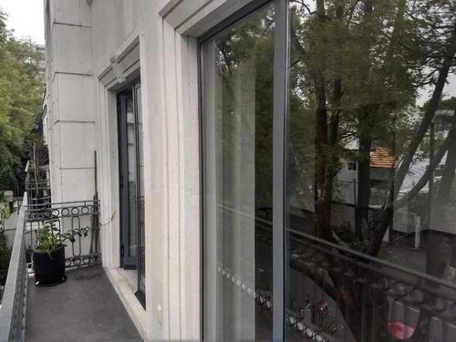 elegante departamento en polanco alejandro dumas con terraza .