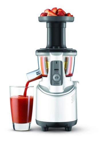 elegante fuente extractora de jugos y frutas breville bjs600