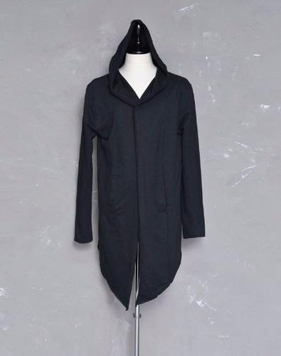 elegante hoodie gabardina sudadera larga para hombre 4201