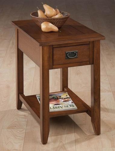 elegante mesa decorativa de estilo rústico jofran importada