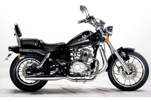 elegante moto regal raptor 150cc 2017 chopera como nueva
