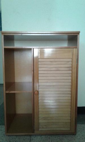 elegante mueble chifonier en mdf y puertas romanilla