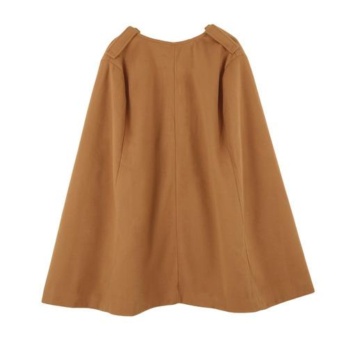 elegante mujeres capa coat batwing manto suelto poncho calie