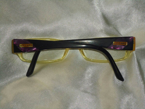d3939bb54ad65 Elegante Óculos Armação Vintage Grau Azzaro,france,déc90 - R  220,00 ...