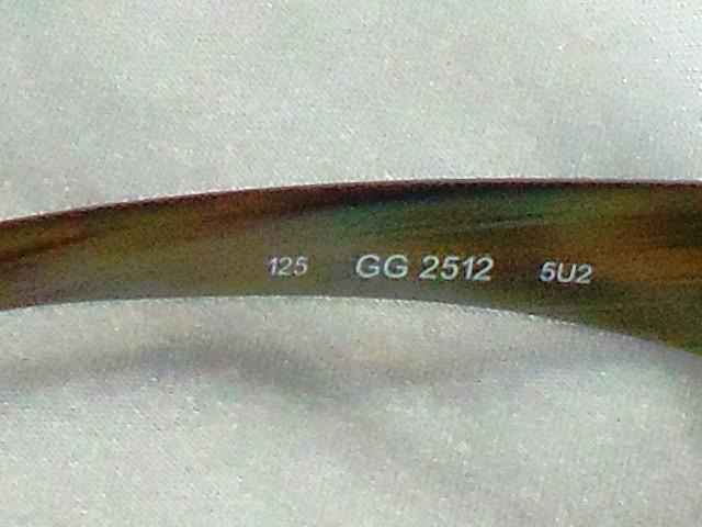 Elegante Óculos Fem.vintage Armação Grau Gucci,itália,déc.90 - R ... ea04504d8a