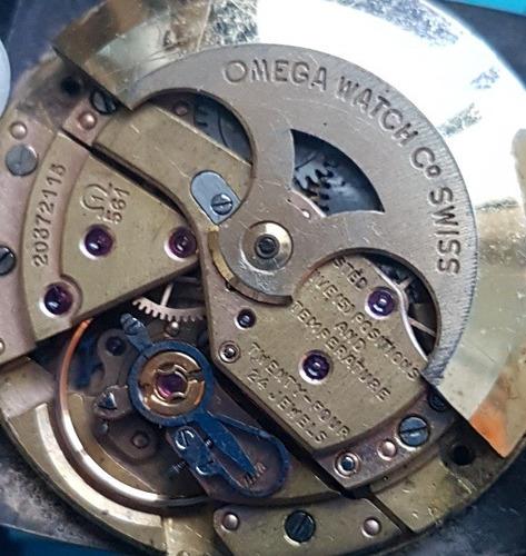 elegante omega vintage automático