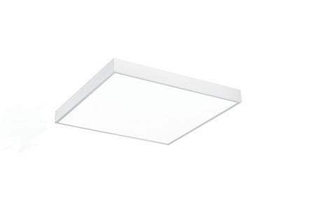 elegante plafón led lámpara de techo cuadrado moderno