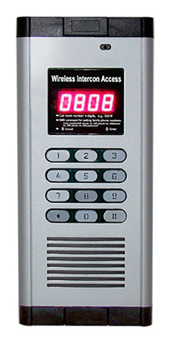 elegante portero de audio 200 casas o departamentos jr-f200b